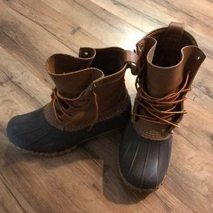 LL Bean Authentic Duck Boot